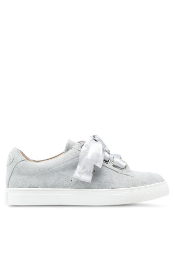 Carlton London grey Bow Sneakers 0ED0DSH8A66A42GS_1