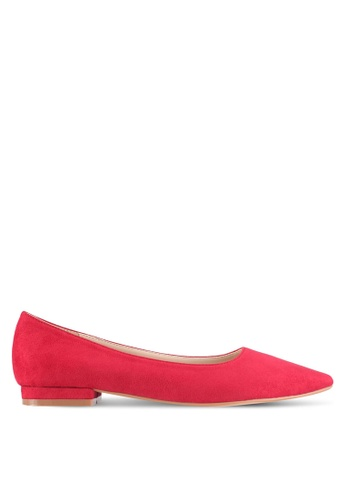 ZALORA red Essential Flats With Slight Heel 8DE67SH4133E2AGS_1