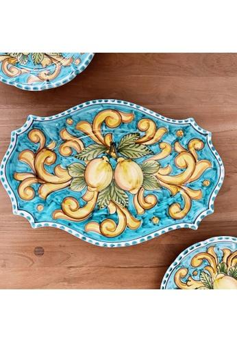 Living DNA Lemon Ceramic Large Platter Turquoise 82961HL538D813GS_1
