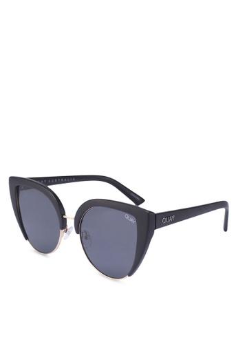 Quay Australia black OH MY DAYZ Sunglasses 7EAADGL989EA3DGS_1