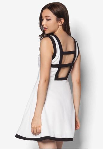 BW Bindesprit 中文ed Flare Dress, 服飾, 派對洋裝