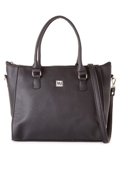 MJ Shoulder Bag with Detachable Sling