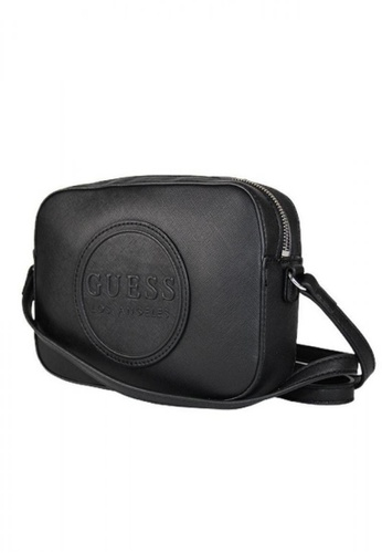 Guess black Guess Thornton Camera Crossbody Bag 9806EACFB6BE0AGS_1