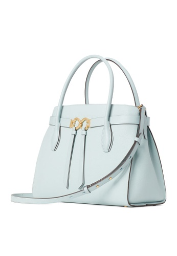 kate spade new york blue Toujours Medium Crossbody Bag D4186AC081D87DGS_1
