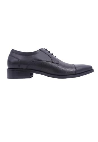 Hanson Bootmaker 黑色 Hanson Bootmaker LacEasy Derby- Black 53418SH145A6B9GS_1