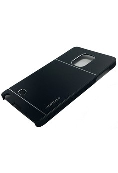 Ultra Sleek Metal Case for Samsung Galaxy Note Edge (Black)