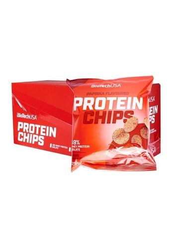 BioTechUSA [10 x 25g] Protein Chips - Paprika 1C99AES2826662GS_1