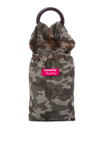Mamaway green Camouflage Baby Ring Sling MA263AA72TQXPH_1