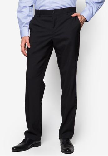 合身無褶西裝長esprit香港門市褲, 服飾, 窄管褲