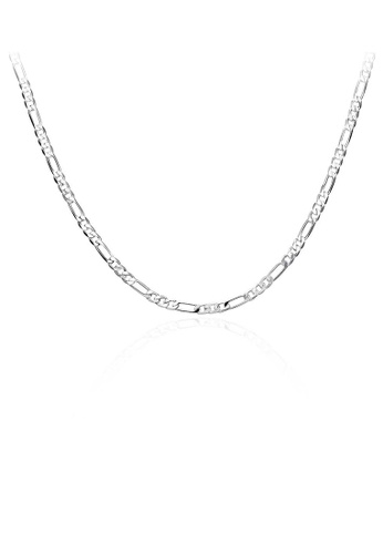 Glamorousky silver Fashion Necklace For Men 91603ACFC32F20GS_1
