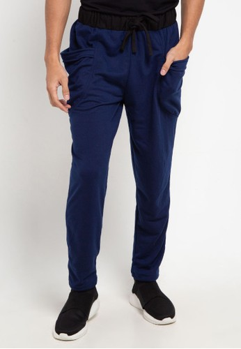 magnificents navy Sweatpants With Pocket 0AF5FAA049F386GS_1