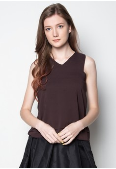 Chiffon V-Neck Top
