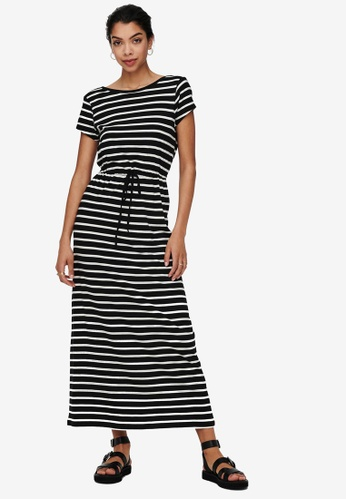 ONLY black May String Maxi Dress 6F1C8AAF7063C7GS_1