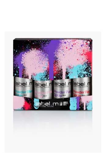 label.m grey label.m Powder Spray 4pc set 50ML 6BEC9BE226863BGS_1