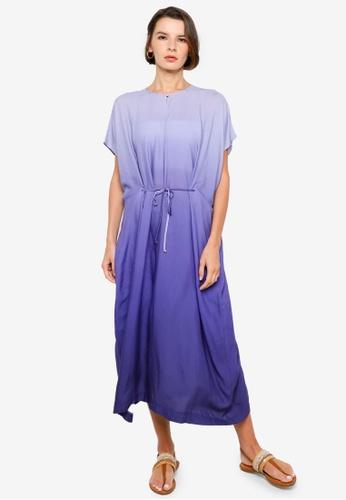 H&M purple Ombre Kaftan EB3FEAA4CBE891GS_1