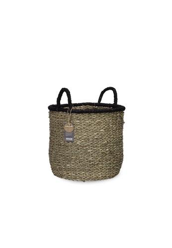 HOUZE ecoHOUZE Seagrass Bay Basket With Handles (Large) 2AF72HLC9AF07CGS_1
