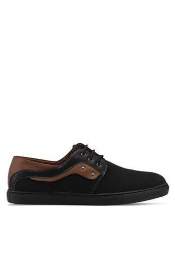 Rocklander black Dual Tone Lace Up Shoes 83CC6SH68889F3GS_1