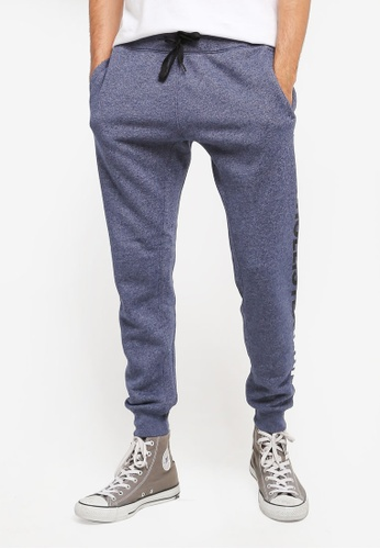 Hollister navy Skinny Fit Graphic Sweatpants HO422AA0T1BJMY_1