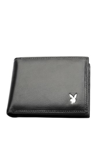 Playboy black RFID Wallet 940B6AC36881A0GS_1
