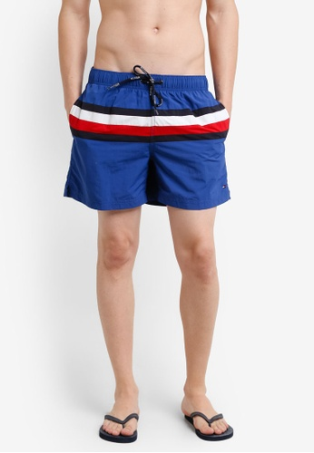 Tommy Hilfiger blue CORPORATE STRIPE TRUNK TO729US0F31GSG_1