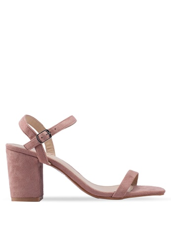 e8166ffdd Shop Glamorous Strapped Block Heels Online on ZALORA Philippines