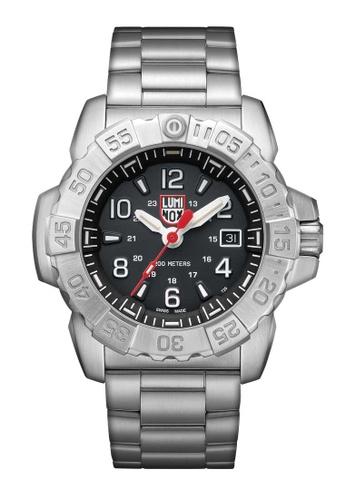 Luminox silver Luminox Navy Seal Steel Silver Stainless Steel Watch 75CBAACFFA8165GS_1