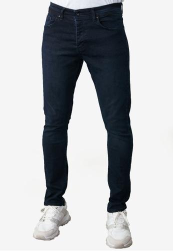 Trendyol navy Skinny Jeans 5F28DAAE103FA3GS_1