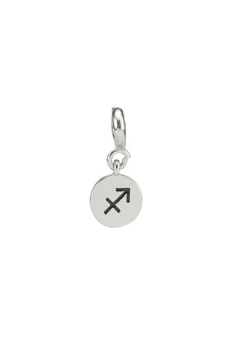 My Flash Trash silver Sagittarius charm 06034AC64F2275GS_1