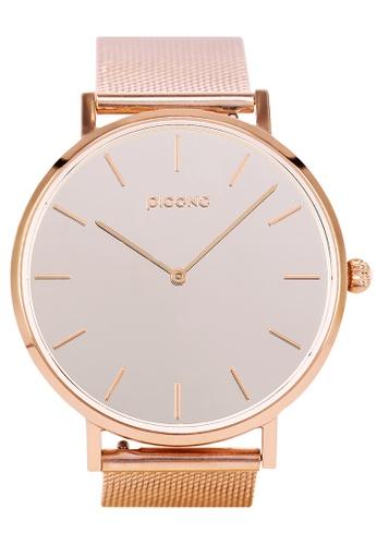 PICONO Watches MIRROR T Minimalist Fashion Mirror Dial Watch PI771AC2VURIHK_1