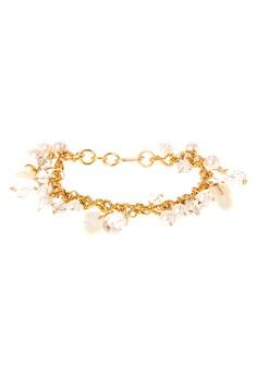 Pearly Shell Handmade Charm Bracelet