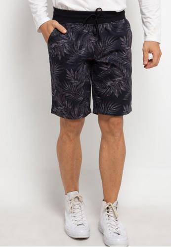 Malibu black Bermuda Rib Short Pants E85C6AAC974E70GS_1