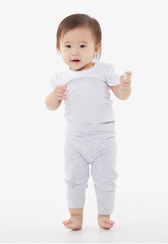 Gen Woo grey Baby Legging By Gen Woo 6CFC9KA4002BD3GS_1