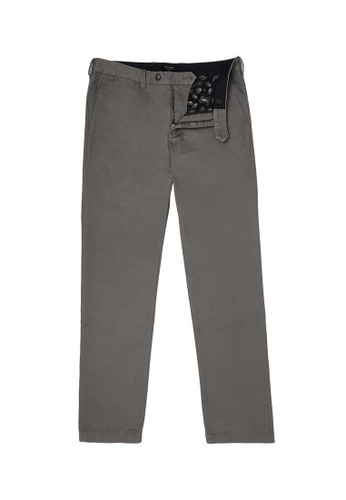 TED BAKER grey Slim Fit Plain Chino 30D62AA3C26C37GS_1