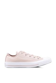 43e43e85f236 Converse beige Chuck Taylor All Star Summer Glam Ox Sneakers  EA766SHB8912D3GS_1