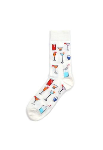 Rad Russel multi Rad Russel Ladies Patterned Socks- 70633 F2136AA457E51AGS_1