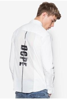 Dope Mesh Back Long Sleeve Shirt