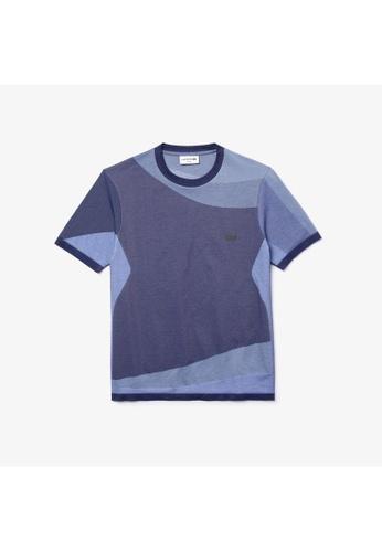Lacoste Lacoste Men's Lacoste Motion Colourblock Ultra-Light T-shirt A509BAA00E4E16GS_1