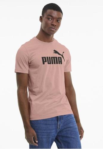 puma pink Men's Heather T-Shirt AC485AA16293FBGS_1