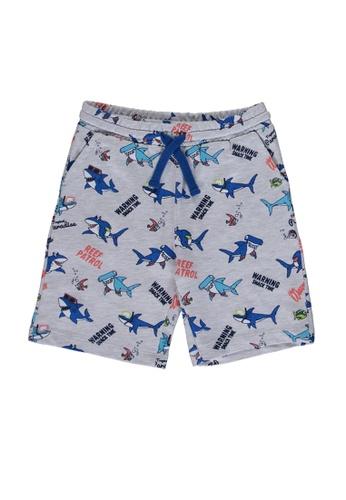 LC Waikiki grey Boy's? Printed Shorts FE142KAD63C274GS_1