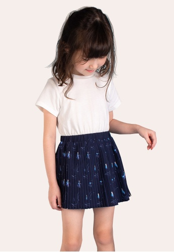L'zzie navy FROZEN II SWIRLS DRESS - KIDS - NAVY 208A4KA50A0244GS_1