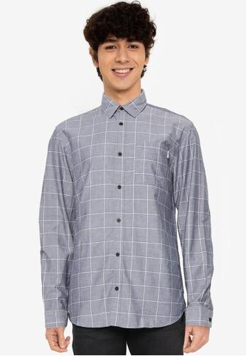 JACK & JONES blue Arizona One Pocket Shirt 2B6FFAAB1FAADBGS_1