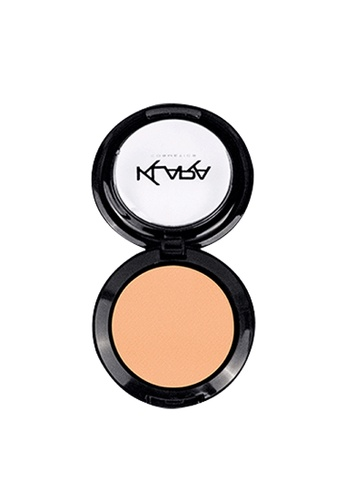 KLARA COSMETICS beige Matte Eyeshadow #14 - Decandent Cream 41DD3BE46C0610GS_1