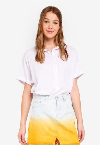 Cotton On white Cassie Short Sleeve Shirt 99C1AAA8AE08CFGS_1
