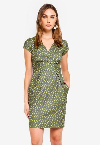 CLOSET 綠色 鉛筆洋裝 With C5BBDAA7DC17D8GS_1