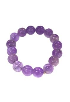 Manmico Feng Shui Lucky Charms Amethyst Bracelet (Light Violet)