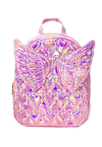 Adkidz pink Adkidz Holographic Angel Wing Backpack 5CE7DKCF071AD4GS_1