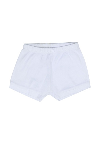 FOX Kids & Baby white Newborn Shorts F8B95KAAFA0E59GS_1