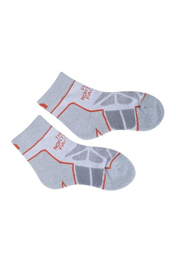 The North Face multi TNF Hiking Sock Lightweight-Ap High Rise Grey/TNF White/Fire C5756AC47D8D47GS_1