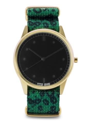 豹紋圓esprit暢貨中心框手錶, 錶類, 其它錶帶