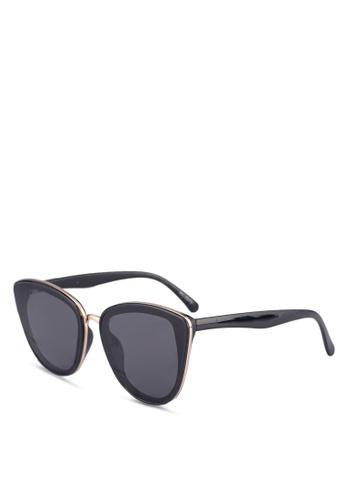 ALDO black Mcguinnes Sunglasses/Cat Eye EDAE7GLA5AFD27GS_1